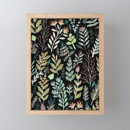 Dark Botanic Framed Mini Art Print