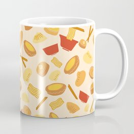 Bright Colorful Fun Dim Sum Illustrations Coffee Mug