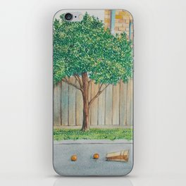 suburban disinterest iPhone Skin