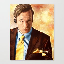 Breaking Bad - Saul Goodman Canvas Print