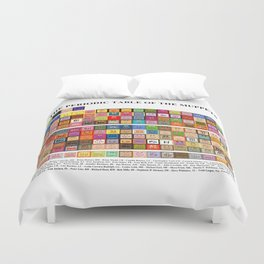 The Periodic Table of the Muppets Duvet Cover