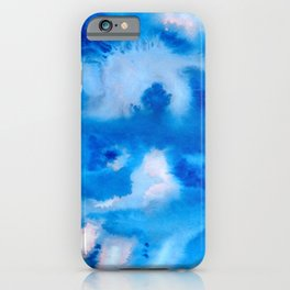 Ethereal Blue iPhone Case
