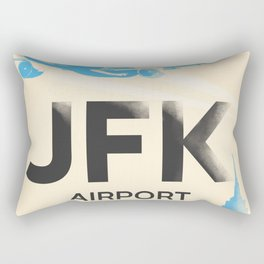 JFK stylish airport code Rectangular Pillow