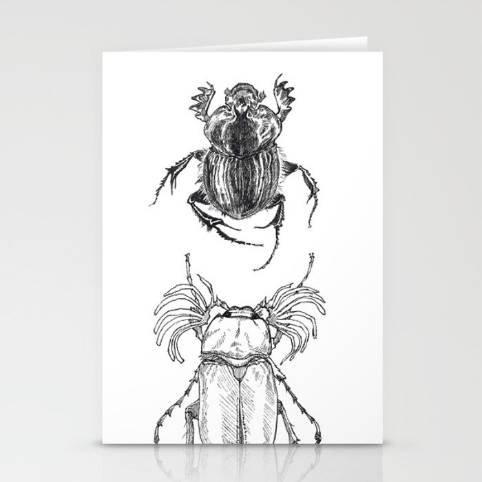 Scarabs Stationery Cards