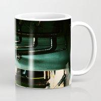 industrial Mugs featuring Industrial by Nina Saunders