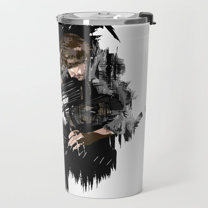 Piano player Travel Mug