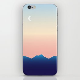 Hometown Sunset iPhone Skin