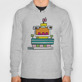 Big Smile Robot Hoody