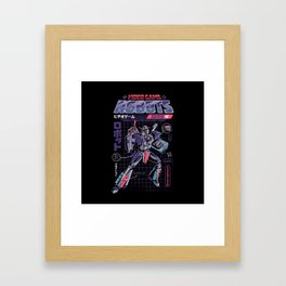 Video Game Robot - Model N Framed Art Print