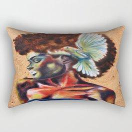 Birds the Word, pt 1 Rectangular Pillow