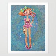 Good Ship Lollipop Art Print