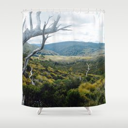 Cradle Mountain Boardwalk Shower Curtain