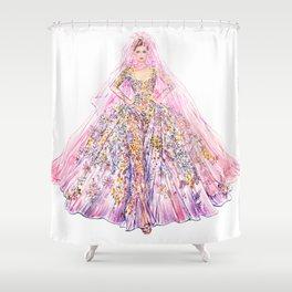 Bride Shower Curtain