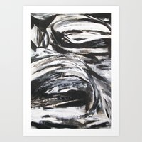 Reflections and Distortion Two Art Print