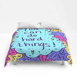 You can do hard things! Comforters