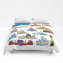Princess Castles Comforters