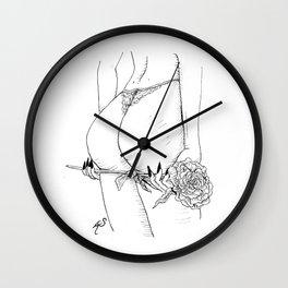 Romantic desires Wall Clock