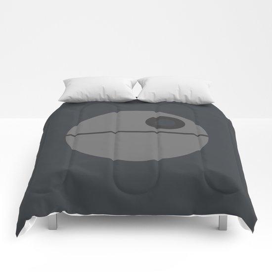Star Wars Minimalism - Death Star Comforters