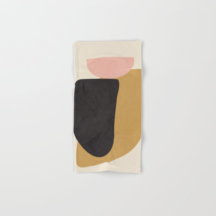 Abstract Shapes 34 Hand & Bath Towel