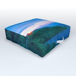 Blue Ridge Parkway 9 Outdoor Floor Cushion