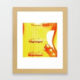 SUNBURST FUNK Framed Art Print