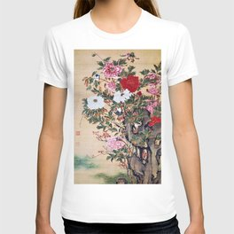 Ito Jakuchu - Peony - Digital Remastered Edition T-shirt