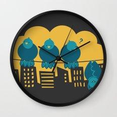 Three plus one Wall Clock