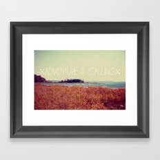 Adventure is Calling #2 Framed Art Print