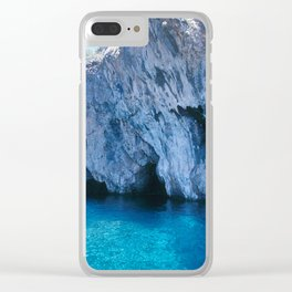 NATURE'S WONDER #5 - BLUE GROTTO (Turkey) #2 #art #society6 Clear iPhone Case