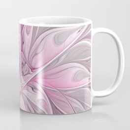 Abstract Pink Floral Dream Coffee Mug