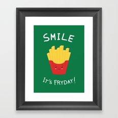 The best day! Framed Art Print