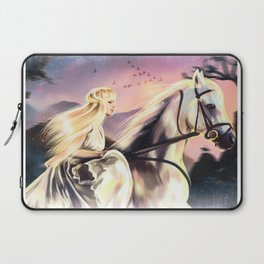 Girl on a horse Laptop Sleeve