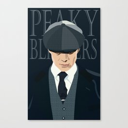 Thomas Shelby of Peaky Blinders Canvas Print