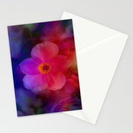 Rainbow Anemone Stationery Cards