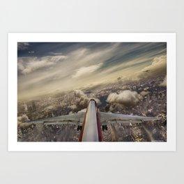 Kennedy tower Iberia 6253 Art Print