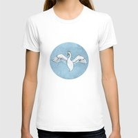 swan queen T-shirts featuring Swan Queen by dalliance-amongst-the-stars