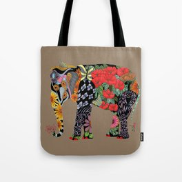Ms. Ele Phant Tote Bag