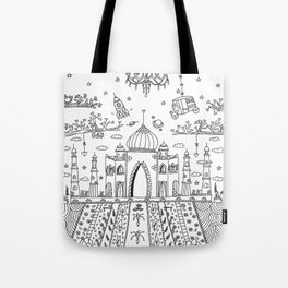 GuLa Taj love Tote Bag