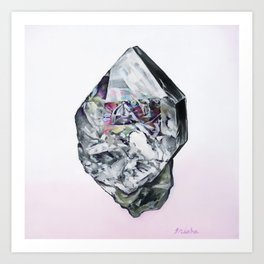 Herkimer Diamond Art Print