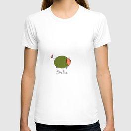 Olive Ewe. T-shirt