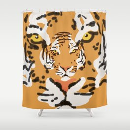2Tigers Shower Curtain