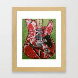 Monster guitar Framed Art Print