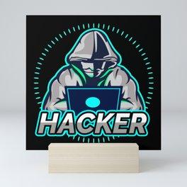 Hacker Mini Art Print