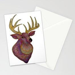 Darling, Detailed Deer Stationery Cards