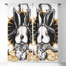 Bunny Blackout Curtain