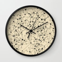 Stars sky map Wall Clock