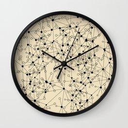 Stars sky map Wall Clock