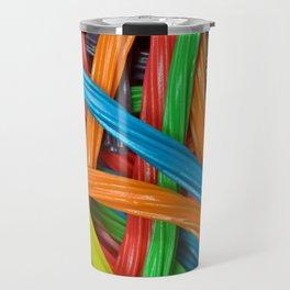 Colorful licorice candy Travel Mug
