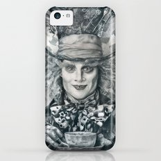 Mad Hatter - Johnny Depp Traditional Portrait Print Slim Case iPhone 5c