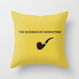 The Sherlock Holmes Quote I Throw Pillow